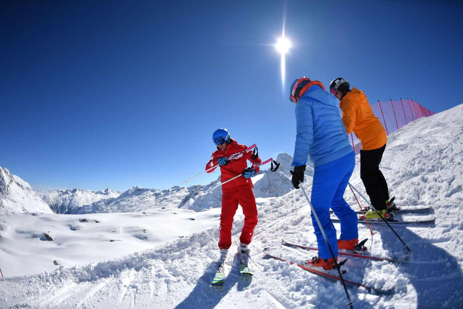 Ecole de skis les paccots webcam