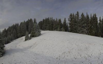 Première neige aux Paccots